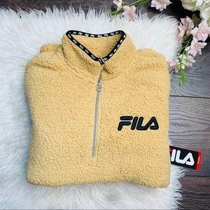 Fila | Sherpa Pullover Cozy Soft Sweater